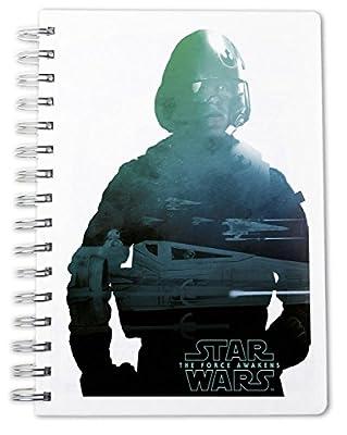 Star War Episode 7 Notebook DIN A 5 Poe Dameron