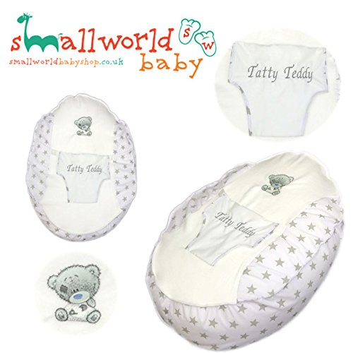 PERSONALISED PRE FILLED BABY BEAN BAG CHAIR SEAT NEWBORN GIRLS BOYS NEWBORN ME TO YOU TATTY TEDDY (NEXT DAY DISPATCH) Small World Baby Shop