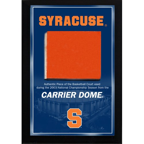 Steiner Sports NBA Syracuse Orangemen Carrier Dome Court Plaque