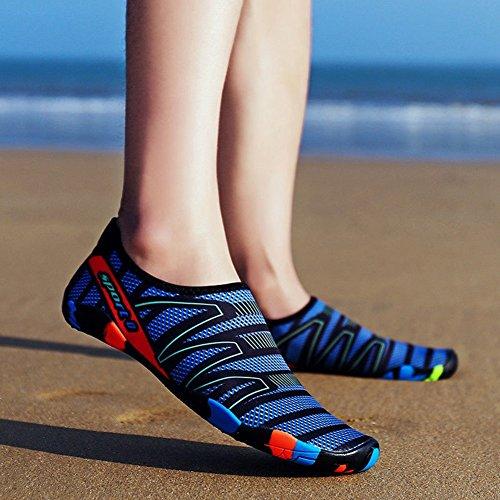 Aqua Schuhe dunkelblau 48 Damen Grau ZAK168 gZqOUwg