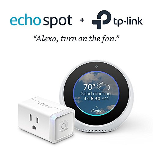 Echo Spot with TP-Link Smart Plug Mini by Amazon (Image #7)