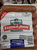 Farmer John Smoked Sausage Links 14 Oz (4 Pack)