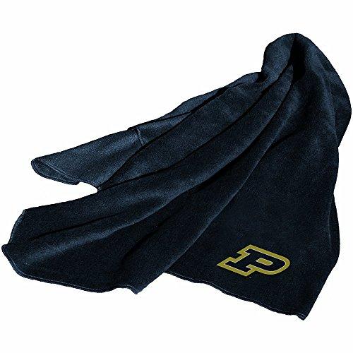 Purdue Boilermakers NCAA Fleece Throw Blanket (Throw Blanket Boilermakers)