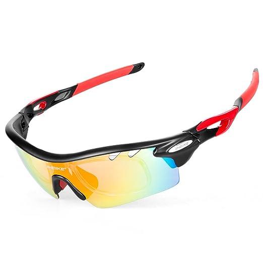 82 opinioni per Inbike Occhiali Ciclismo Polarizzati Anti-UV con 5 Lenti intercambiabili per