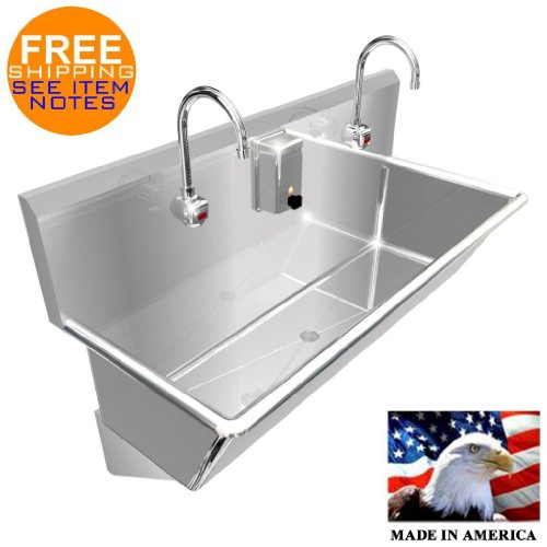 WASH UP HAND SINK 2 STATION MULTIUSER 48 by BSM