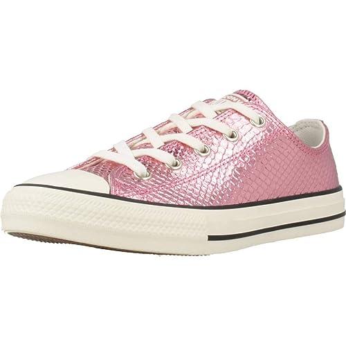 all star converse niña rosa