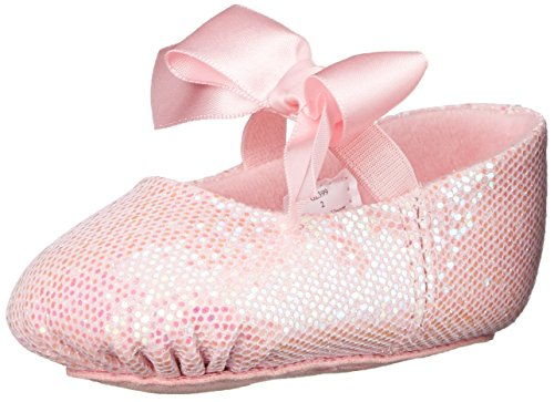 (Dance Class Girls' Sparkle Baby Ballet-K, Pink, 6 M US Toddler )