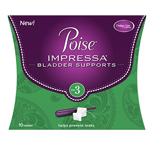 Poise Impressa Incontinence Bladder Supports Size 3, 10 Count by Poise