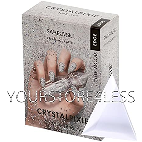 Swarovski Crystalpixie EDGE CUTE MOOD 5g - Nail Decoration Crystal Pixie W Tray