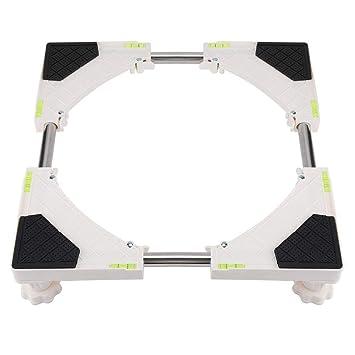 Base de La Base de La Lavadora Soporte Multifuncional 4 8 Pies Ruedas Ruedas Telescópicas Rodillo para Muebles Base Móvil Base Ajustable para Secadora, ...
