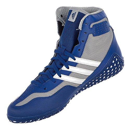 adidas Performance Herren Mat Wizard.3 Wrestling Schuhe Royal / Weiß / Grau