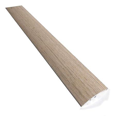 Aluminium Carpet Cover Wood Effect Threshold Transition Strip Door Floor Trim Bar LW_35 TMW Profiles (Light Oak): Amazon.co.uk: DIY & Tools