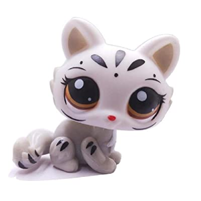 wdd Littlest Pet Shop cat Kitten LPS Toy.: Toys & Games