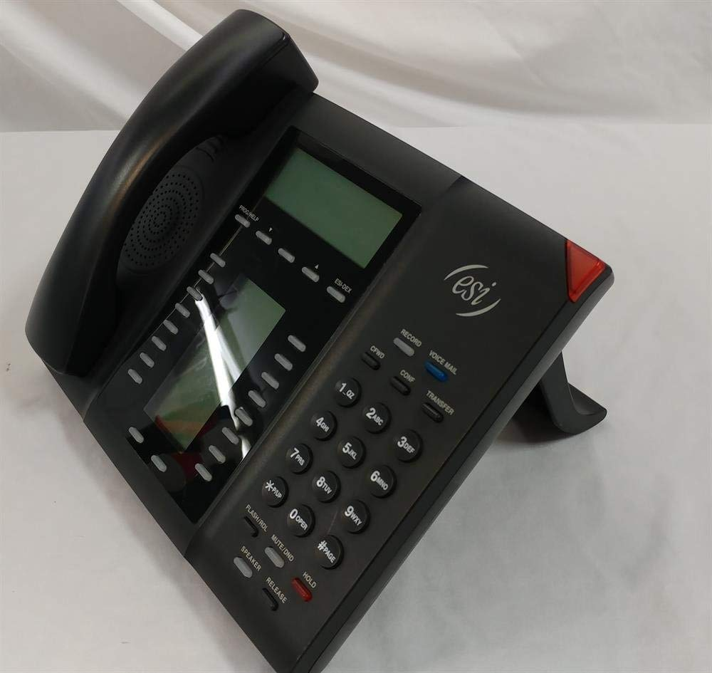 ESI 60D ABP 5000-0594 Self Labeling Digital Telephone with Full Duplex Speakerphone and Backlit Display (Renewed) by ESI (Image #2)