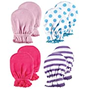 4-Pack Scratch Mittens, Pink set