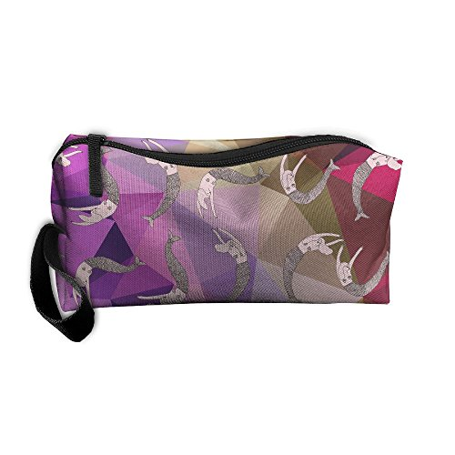 Pink Mermaid Travel Toiletry Bag Makeup Pouch Organizers