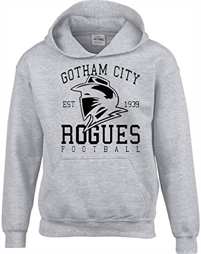 Unisexe Bandes Sweats Hommes Adolescents Fan Films Gotham Super Et De Heros Rogues Pour A Dessinees Crown Gris Designs Capuche Femmes City TwZxq44v