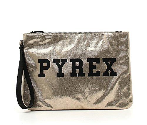 POCHETTE PYREX, ecopelle, donna, lurex, PY7003R