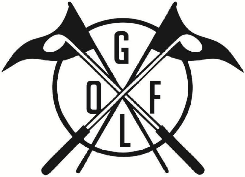 Decoración Del Hogar Golf Club Logo Wall Decal Vinyl Wall