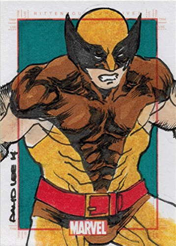 Marvel 75th Anniversary Sketch Card David Lee of Woverine by Marvel