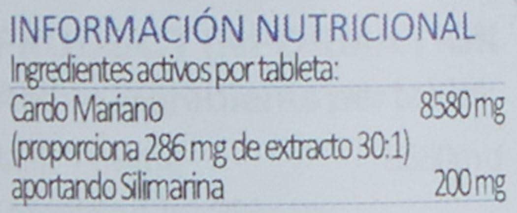 Lamberts Cardo Mariano 8500 mg - 90 Tabletas