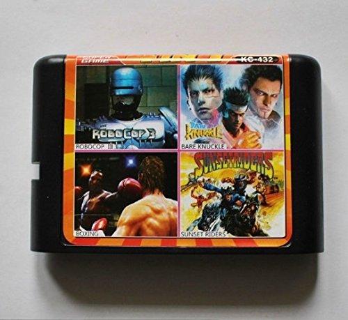 Taka Co 16 Bit Sega MD Game Robocop 3/ Bare Knuckle/ Sunser Riders/ Boxing 16 bit MD Game Card For Sega 16bit Game Player