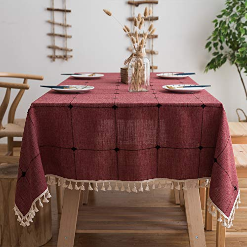 cotton linen tablecloths