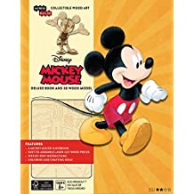 INCREDIBUILDS MICKEY MOUSE DLX MODEL W BOOK