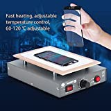hot plate lcd separator - LCD Screen Separator Machine, 2 In 1 7Inch Screen Repair Separating Machine Touch Screen LCD Glass Lens Removal LCD Separator for Cellphone Repair, Build-in Pump, 110V US plug