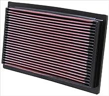 K&N 33-2029 Filtro de Aire Coche, Lavable y Reutilizable
