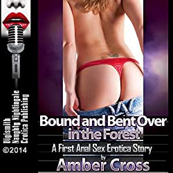 Bound and Bent over in the Forest