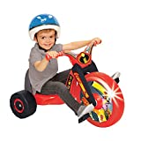 The Incredibles 2, 15' Fly Wheel Junior Cruiser, 1 Ride-on, Ages 3-7, Red/Black, 20' W x 22.5' H x 32.83' L