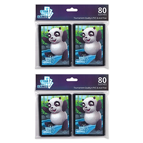 Sleeve Bear - Star City Games Creature Collection Sleeve Twinpack: Panda