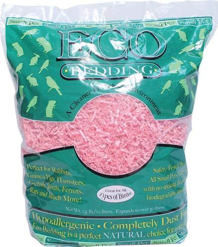 FiberCore Eco Pet Bedding, 1.5 lb, - Hamster Pink