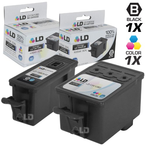 Compatible Replacement for Kodak 30XL Set of 2 HY Ink Cartri