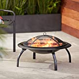 AmazonBasics 26-Inch Portable Folding Fire Pit
