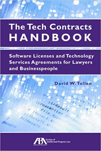 Amazon The Tech Contracts Handbook Software Licenses And