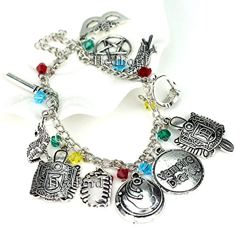Rebekah Costume Diaries Vampire (Vampire Diaries Charm Bracelet by HedFord – Jewelry With Exclusive Style in)