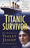 Front cover for the book Titanic Survivor by Violet Jessop