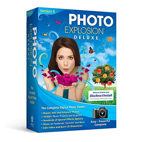 Photo Explosion Deluxe 5.0 (Photo Printing Software)
