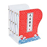 BALUZ Metal Bookends Adjustable Heavy Duty Non-Skid Bookend Holder Stand with Ancient Chinese Elements for Kids School Office