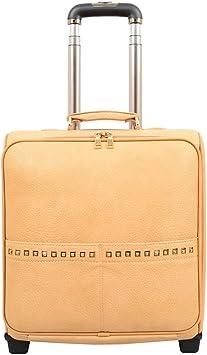 Mellow World Fashion Jovi Carry-on Rolling Suitcase Khaki