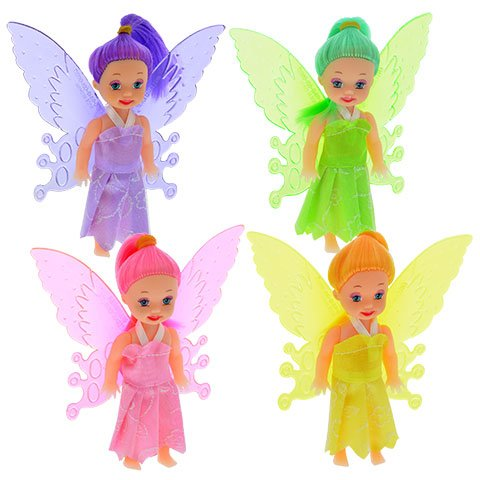 Fairy Tale Dolls 3 PIECE SET, PARTY FAVOR, GIFT SET, CAKE TOPPER