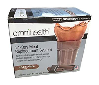 Omnihealth 14-Day Meal Replacement System, Chocolate