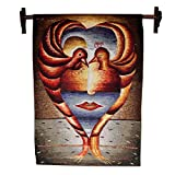 NOVICA ''God''S Love'' Alpaca Tapestry