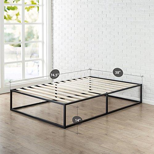 Zinus Modern Studio 14 Inch Platforma Bed Frame / Mattress Foundation with Wood Slat Support, Twin by Zinus (Image #1)