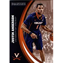 2016 Panini Collegiate Team Set Card #27 Justin Anderson University of Virginia