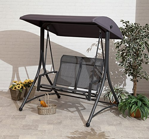 Havana Charcoal 2 Seat Swing Trans-Continental Group