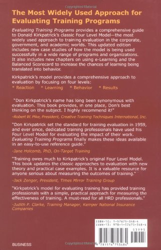 How to Evaluate Learning  The Kirkpatrick Model for the   st Century Kirkpatrick Partners
