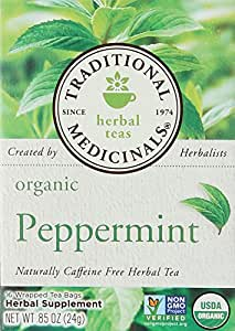 Traditional Medicinals Tea Peppermint Organic, 16 ct
